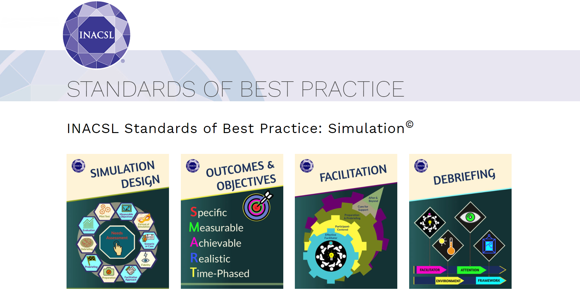 Simulation Standards of Best Practice are Integral to the UbiSim Platform