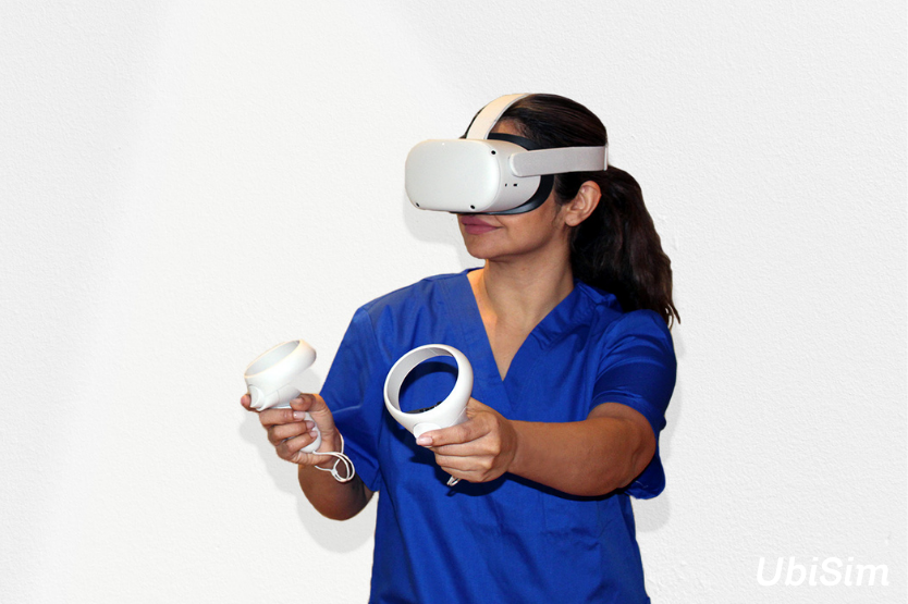 UbiSim Makes Virtual Reality More Immersive and Attainable with Standalone Headsets